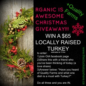 Win a Turkey!