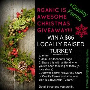 Win a Turkey!
